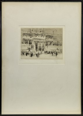Lot 149 - THE HOUSE OF SALLUST, AN ETCHING BY WILLIAM WALCOT
