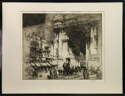 Lot 172 - ENTRY OF THE CONSUL, AN ETCHING BY WILLIAM WALCOT