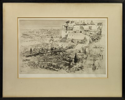 Lot 170 - BABYLON, AN ETCHING BY WILLIAM WALCOT