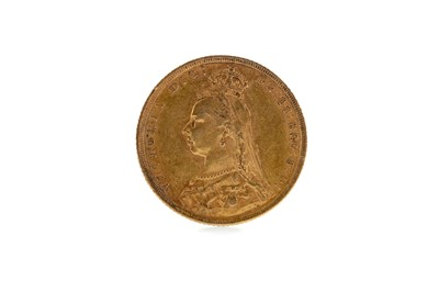 Lot 23 - A GOLD SOVEREIGN DATED 1889