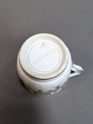 Lot 84 - A MID-19TH CENTURY ENGLISH PORCELAIN TEA SERVICE