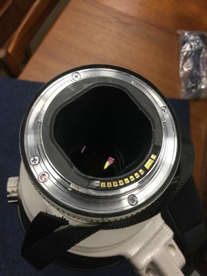 Lot 1813 - A CANON EF 600 1.4 L IS USM