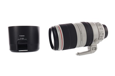 Lot 1806 - A CANON 100-400 4.5 – 5.9 L IS II USM LENS