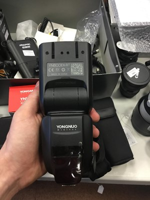 Lot 1787 - A LOT OF TWO YONGNUO 600 EX-RT FOR CANON