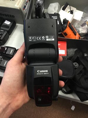 Lot 1786 - A CANON 5870 EX SPEEDLIGHT