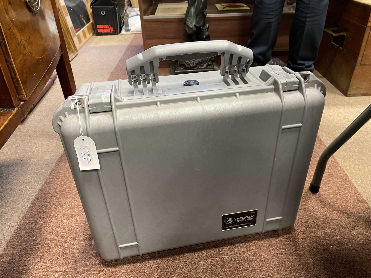 Lot 1778 - NOTE UPDATED PHOTOGRAPH - A PELICAN 1550 CASE