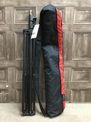 Lot 1767 - A LOT OF TWO MANFROTTO 1052BAC COMPACT STANDS