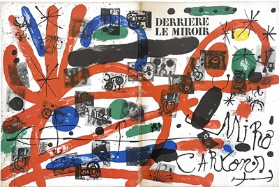 Lot 98 - DERRIERE LE MIROIR, WITH LITHOGRAPHS BY JOAN MIRO