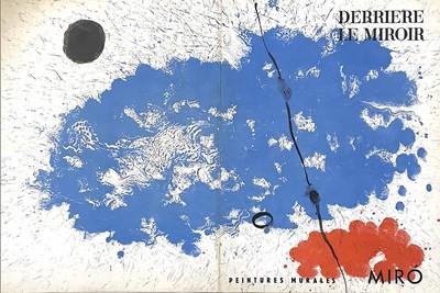 Lot 103 - DERRIERE LE MIROIR, PEINTURES MURALES, LITHOGRAPHS BY JOAN MIRO
