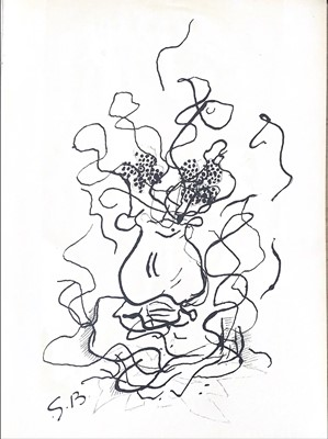 Lot 95 - AN UNTITLED LITHOGRAPH BY GEORGES BRAQUE