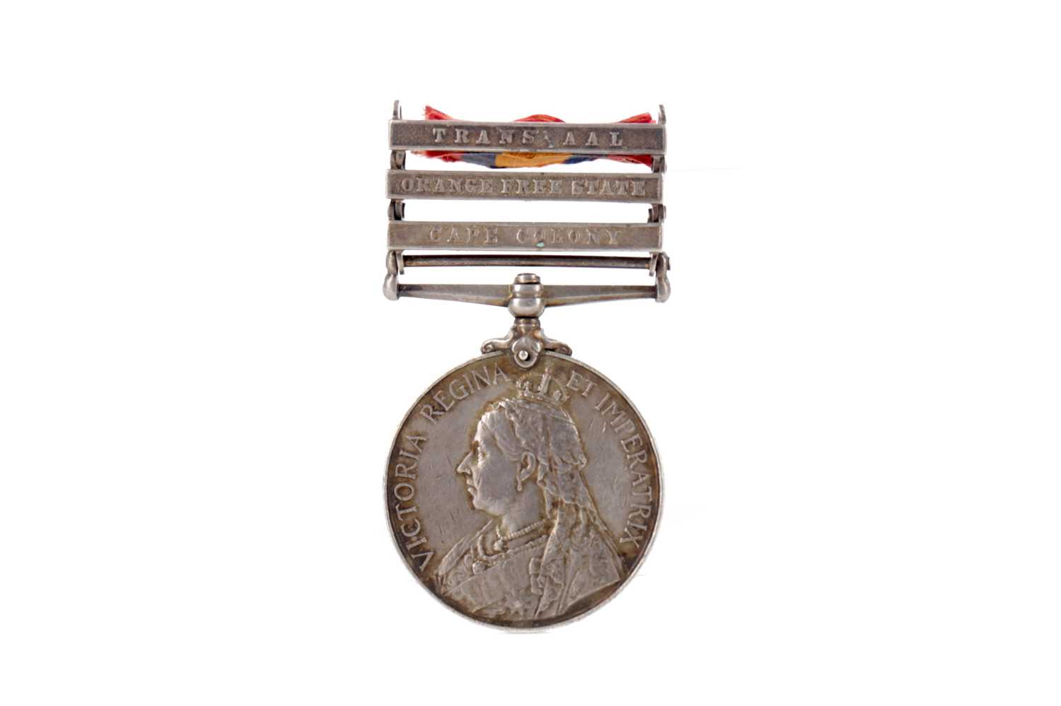 Lot 1381 - A VICTORIAN SOUTH AFRICA MEDAL