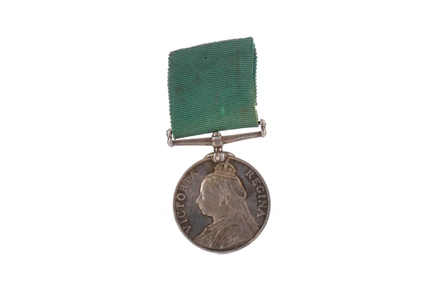 Lot 1385 - A VICTORIAN MEDAL FOR LONG SERVICE IN THE VOLUNTEER FORCE