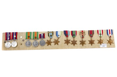 Lot 1389 - A LOT OF WWII SERVICE MEDALS