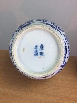 Lot 21 - A PAIR OF 19TH CENTURY CHINESE BLUE & WHITE PORCELAIN VASES