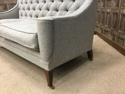 Lot 1395 - A GEORGE SMITH BUTTON BACK SETTEE