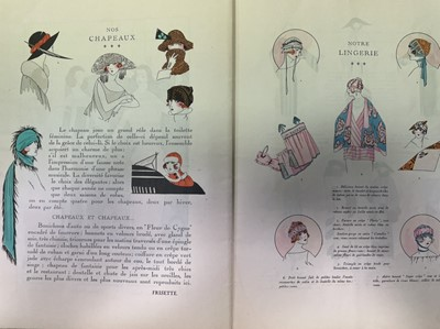 Lot 1403 - A LOT OF SIX 'ART GOUT BEAUTE' FRENCH FASHION MAGAZINES