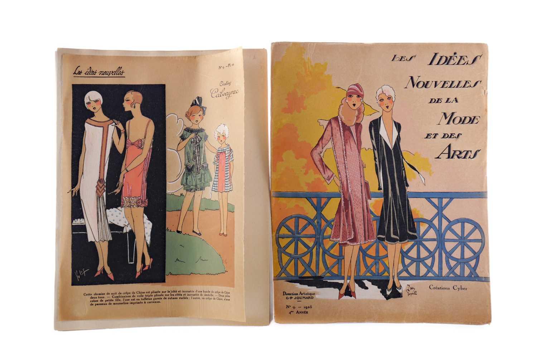 Lot 1400 - A FRENCH FASHION MAGAZINE 'LES IDEES NOUVELLES DE LA MODE ET DES ARTS' 1925