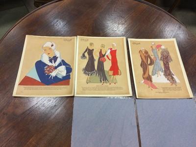 Lot 1402 - A COLLECTION OF 'LES IDEES NOUVELLES DE LA MODE ET DES ARTS' FRENCH FASHION MAGAZINES