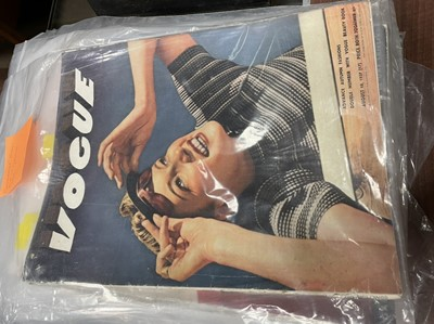 Lot 1404 - A COLLECTION OF 1930S EDITIONS OF VOGUE MAGAZINE