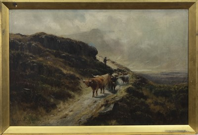 Lot 87 - A PAIR OF OILS BY HENRY HADFIELD CUBLEY