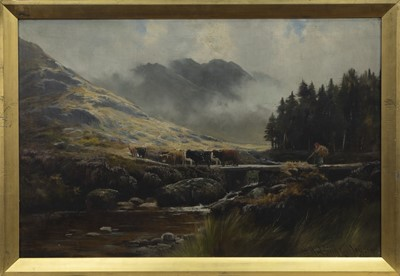 Lot 72 - A PAIR OF OILS BY HENRY HADFIELD CUBLEY