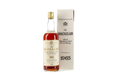 Lot 6 - MACALLAN 1965 17 YEARS OLD