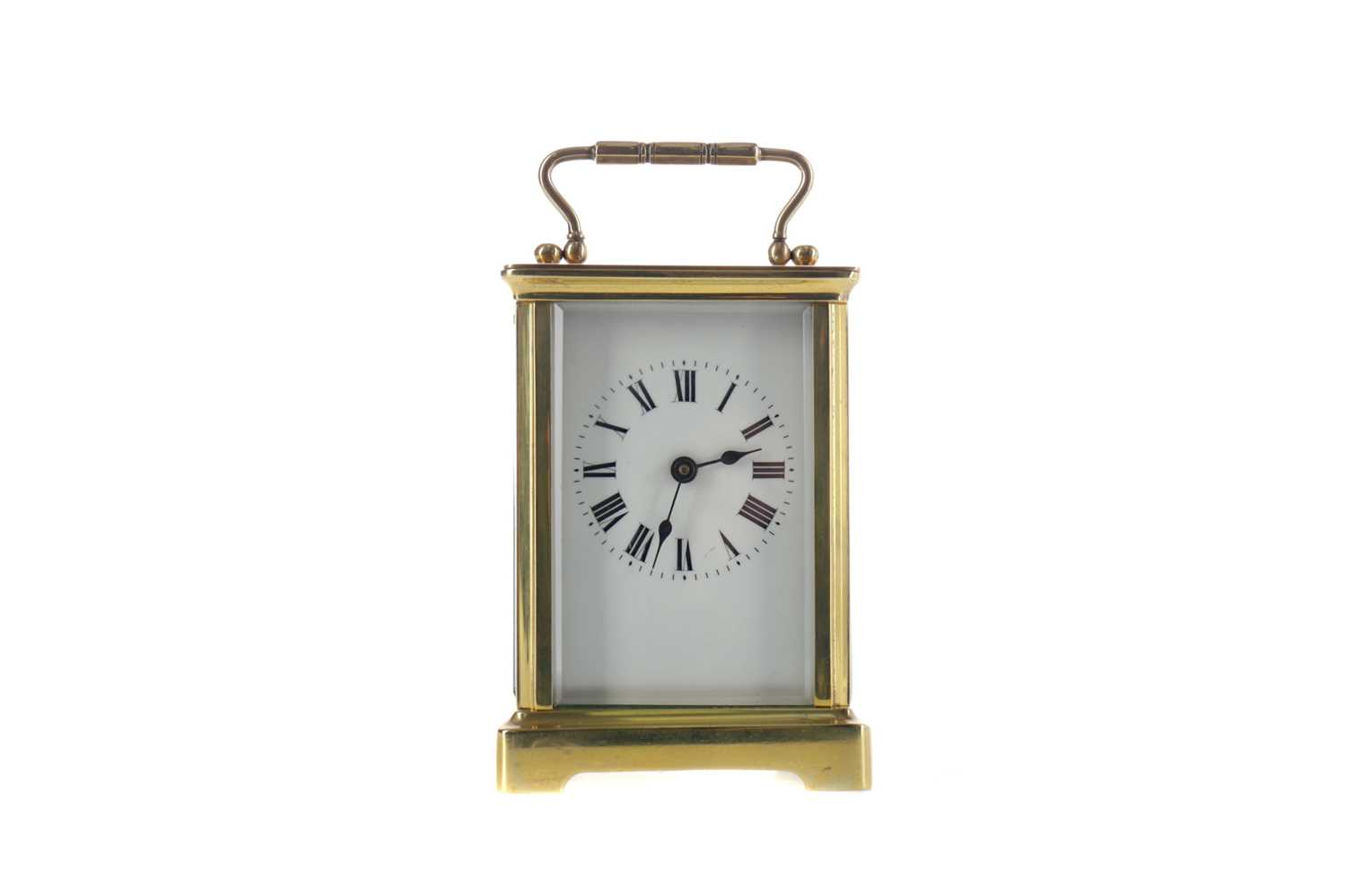 Lot 1737 - AN EARLY 20TH CENTURY CARRIAGE CLOCK