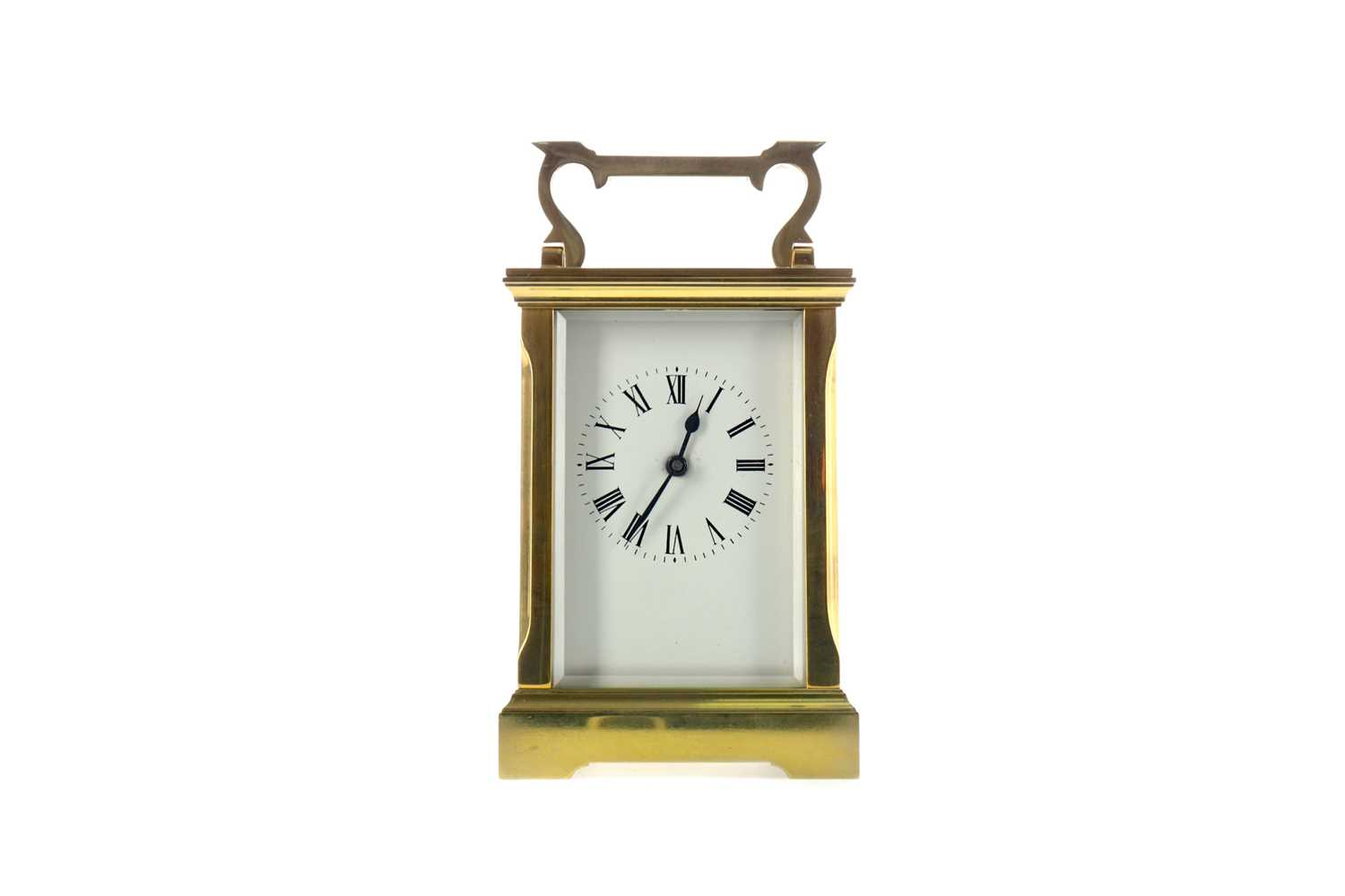 Lot 1739 - AN EARLY 20TH CENTURY CARRIAGE CLOCK