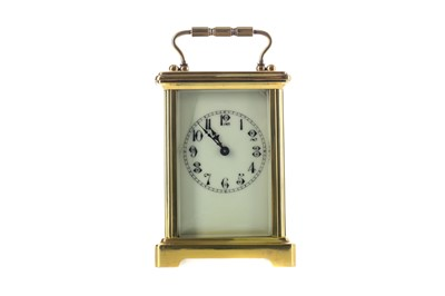 Lot 1742 - AN EARLY 20TH CENTURY CARRIAGE CLOCK