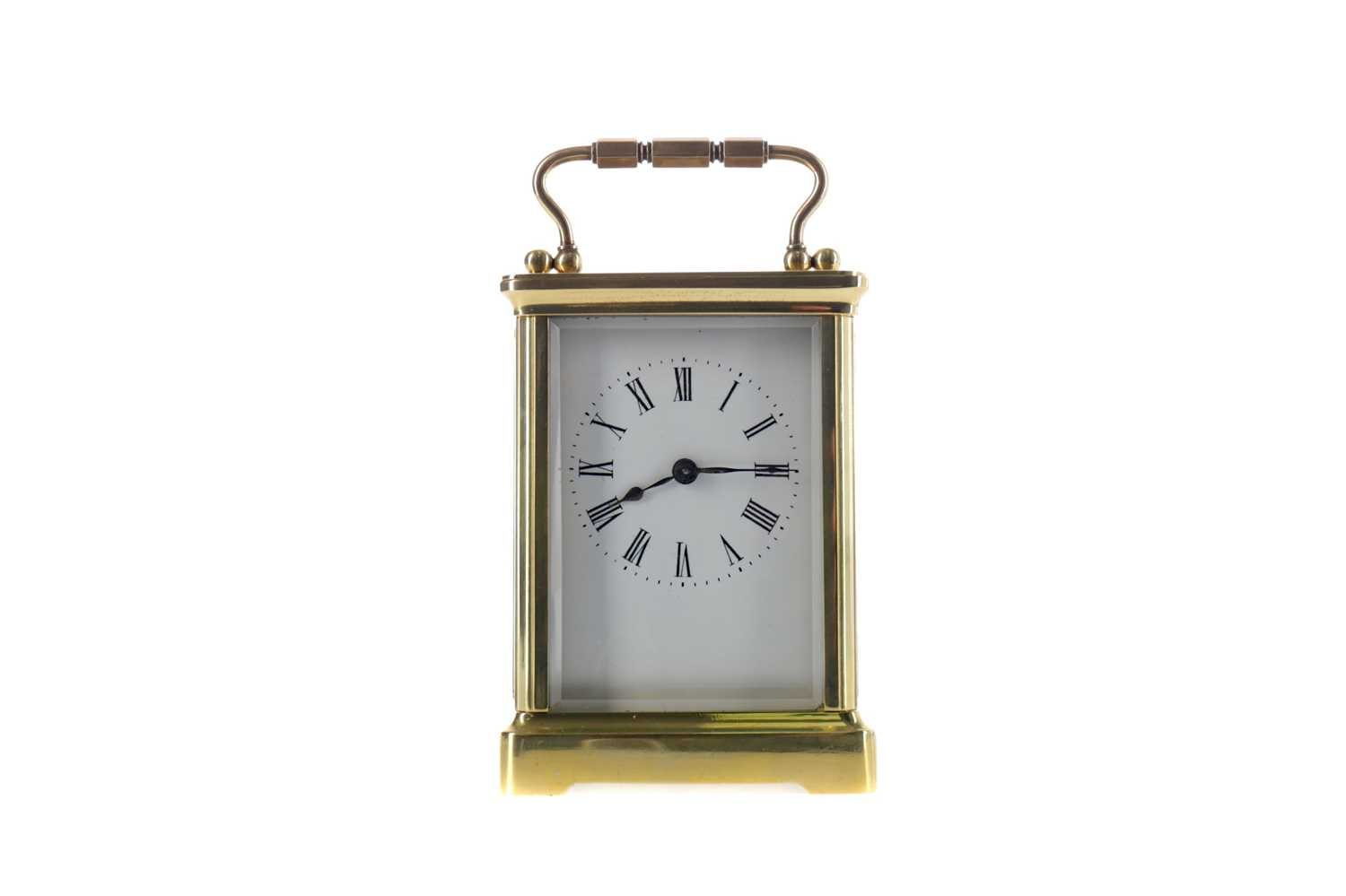 Lot 1744 - AN EARLY 20TH CENTURY CARRIAGE CLOCK