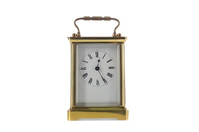 Lot 1746 - AN EARLY 20TH CENTURY CARRIAGE CLOCK