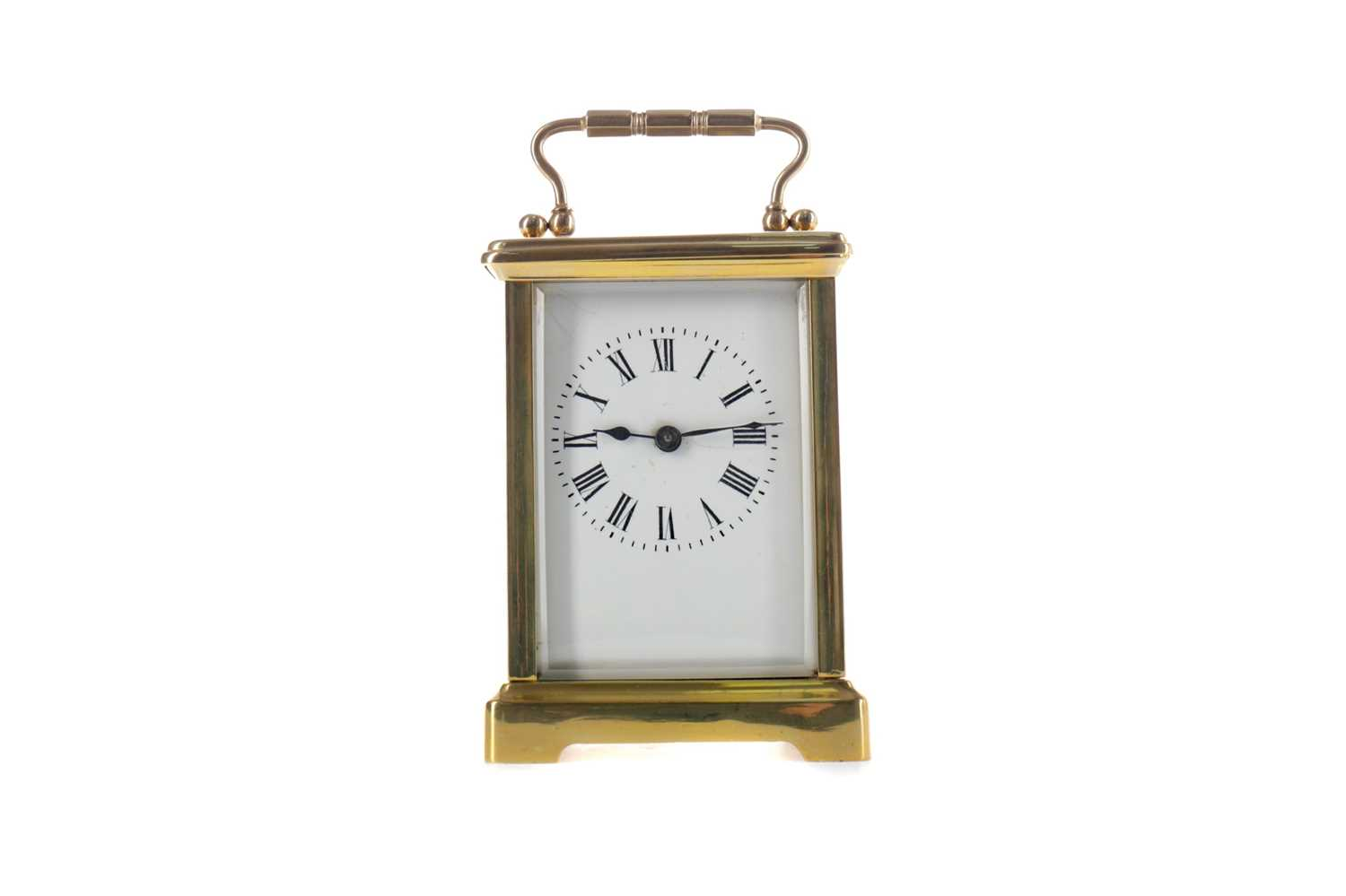 Lot 1747 - AN EARLY 20TH CENTURY CARRIAGE CLOCK