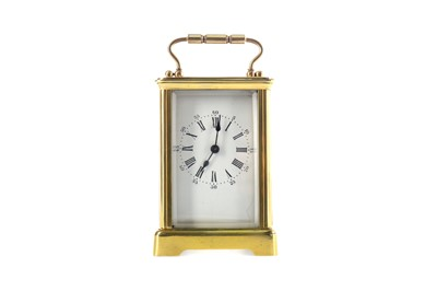 Lot 1749 - AN EARLY 20TH CENTURY CARRIAGE CLOCK