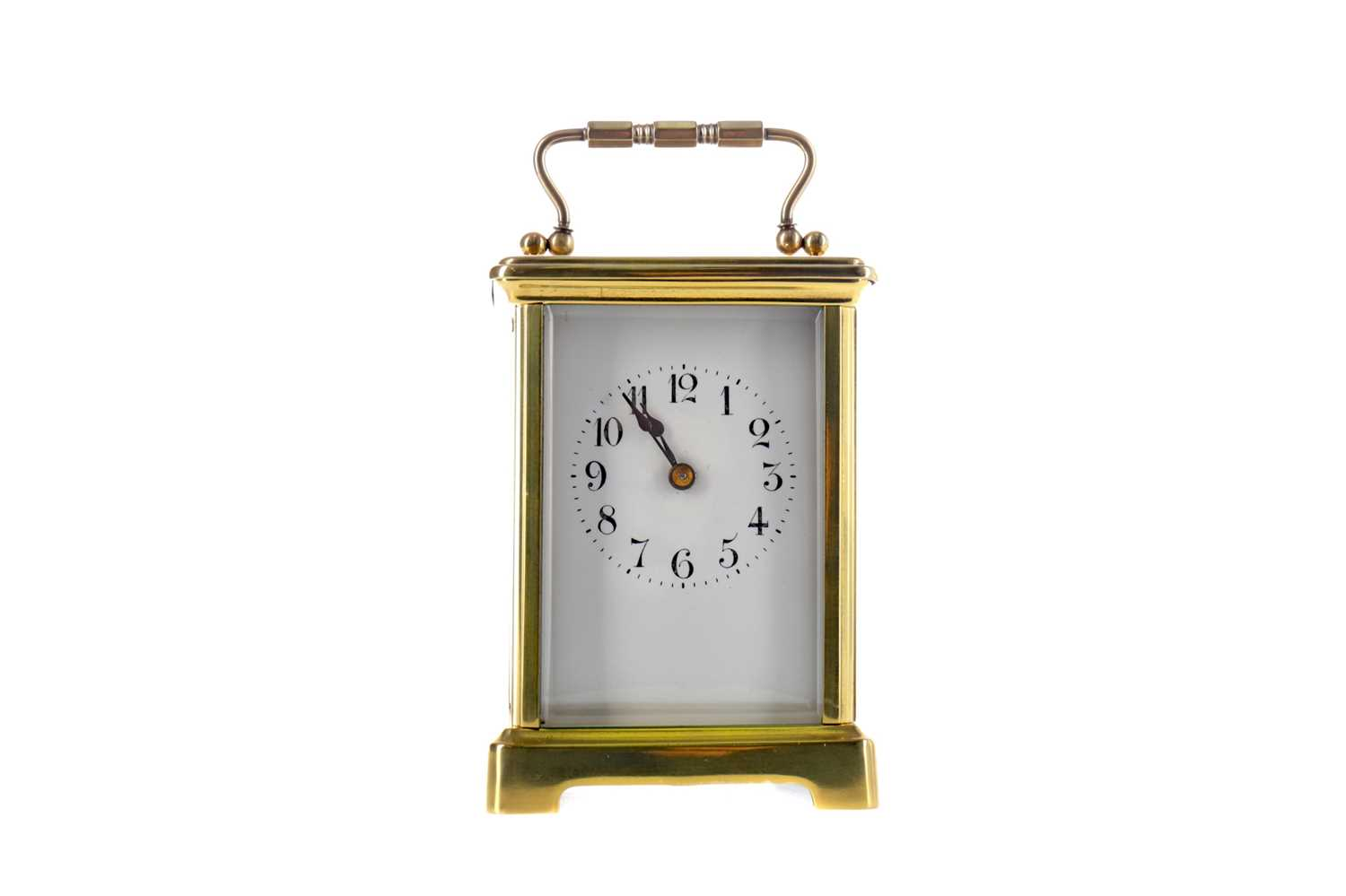 Lot 1752 - AN EARLY 20TH CENTURY CARRIAGE CLOCK
