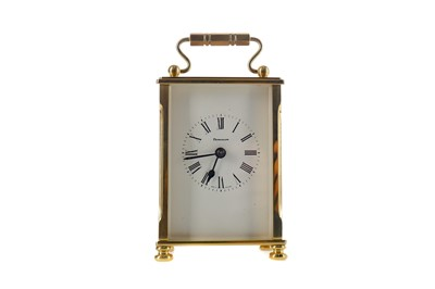 Lot 1754 - A MID-20TH CENTURY CARRIAGE CLOCK