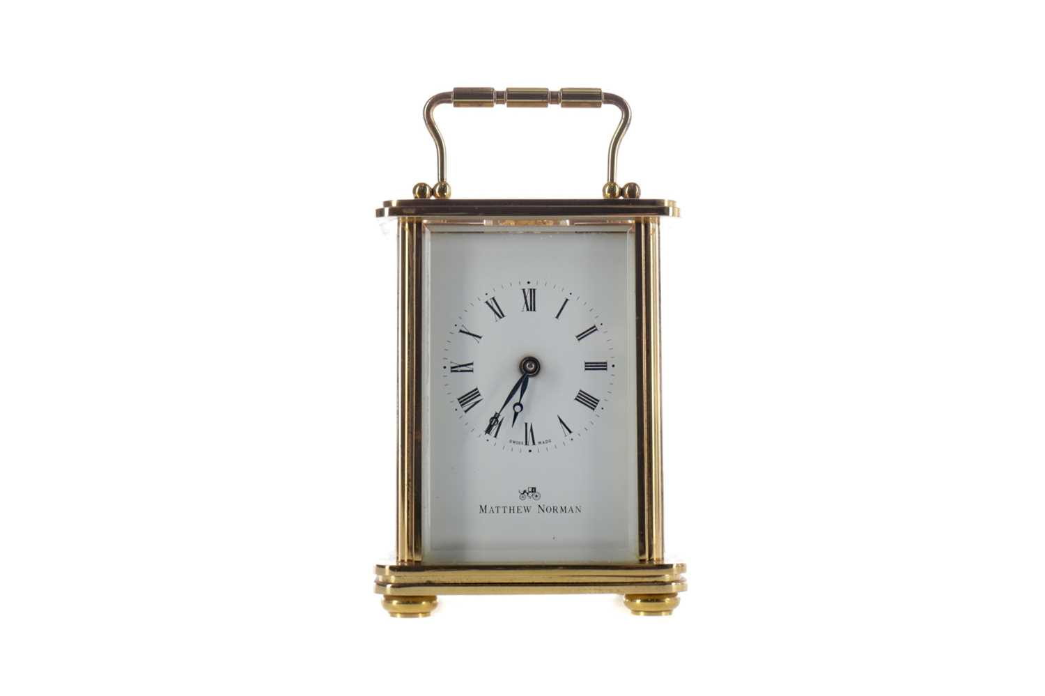 Lot 1755 - AN MID-20TH CENTURY CARRIAGE CLOCK