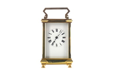 Lot 1756 - AN EARLY 20TH CENTURY CARRIAGE CLOCK