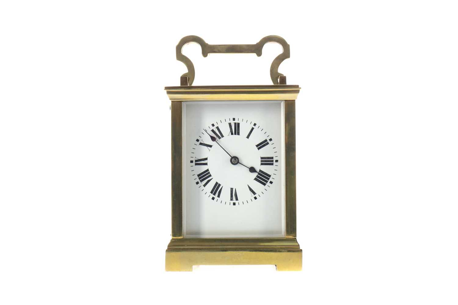 Lot 1758 - AN EARLY 20TH CENTURY CARRIAGE CLOCK
