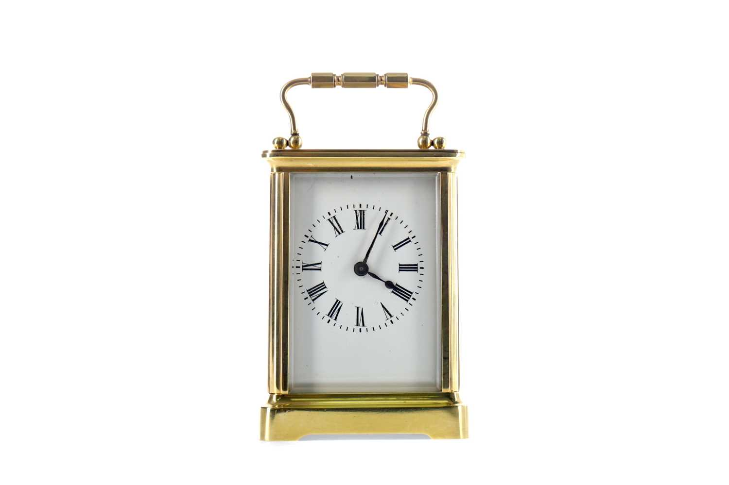 Lot 1759 - AN EARLY 20TH CENTURY CARRIAGE CLOCK