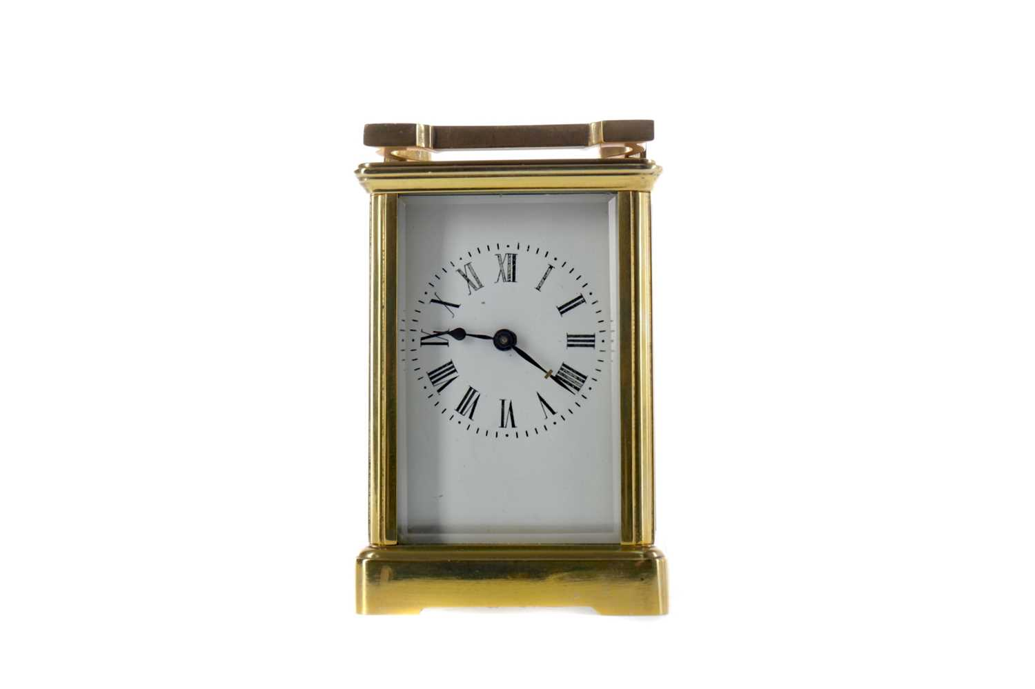 Lot 1762 - AN EARLY 20TH CENTURY CARRIAGE CLOCK