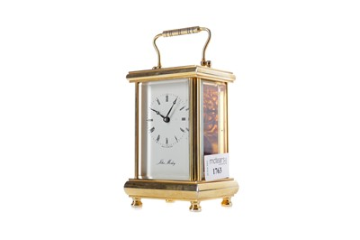 Lot 1763 - AN EARLY 20TH CENTURY CARRIAGE CLOCK