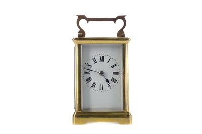 Lot 1832 - AN EARLY 20TH CENTURY CARRIAGE CLOCK
