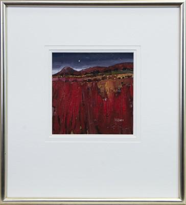 Lot 521 - BIG RED, AN OIL BY GORDON WILSON