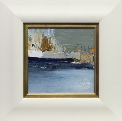 Lot 551 - HARBOUR CITY, A MIXED MEDIA BY ROSANNE BARR