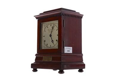 Lot 1880 - A MID 20TH CENTURY MAHOGANY MANTEL CLOCK