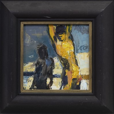 Lot 511 - WE TWO, AN OIL BY KIRSTY WITHER