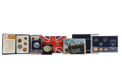 Lot 50 - A COLLECTION OF BRITISH AND OTHER COINS