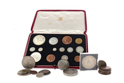 Lot 41 - A COLLECTION OF MAINLY BRITISH COINS