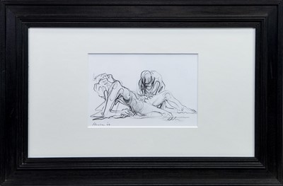 Lot 565 - AN UNTITLED SKETCH BY PETER HOWSON