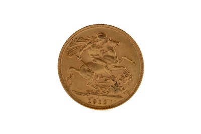 Lot 42 - A GOLD SOVEREIGN DATED 1912
